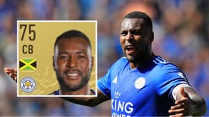 Wes Morgan Is Not Happy With His FIFA 20 Card And You Can See Why