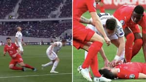 Georgia Player Saves Fabian Schar's Life After He Was Knocked Out