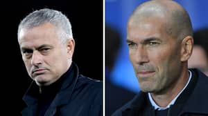 Real Madrid Fans Vote For Jose Mourinho To Replace Zinedine Zidane As Manager
