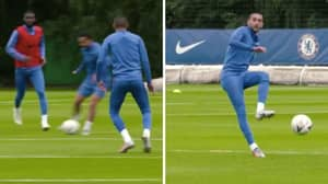 Footage Of Hakim Ziyech In His First Chelsea Training Session Has Emerged And He Looks Sharp
