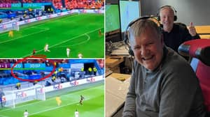 Clive Tyldesley Commentating Over A Replay Thinking It Was Happening Live Wins Highlight Of Euros So Far