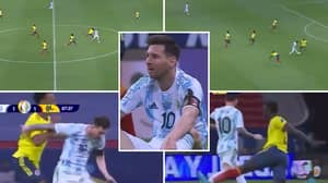 Lionel Messi's Incredible Solo Run For Argentina vs Colombia Shows His Physical Strength Is Underrated