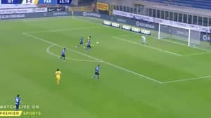 Former Arsenal Man Gervinho Scores Outrageous Volley For Parma Vs Inter Milan