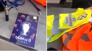 Madrid Police Seize Fake Steward Equipment Ahead Of Champions League Final