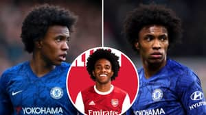 Willian's Astonishing Wages At Arsenal Reportedly Revealed After Gunners Move