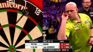 Throwback To Michael Van Gerwen's Seventeen Perfect Darts