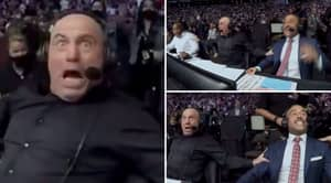 Joe Rogan's Incredible Reaction To Kamaru Usman Knocking Out Jorge Masvidal At UFC 261