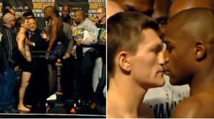 The Legendary Final Face-Off Between Floyd Mayweather And Ricky Hatton Will Still Give You Goosebumps