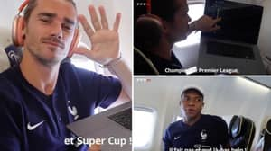 Kylian Mbappe Responded Hilariously After Antoine Griezmann Signed Him For Newcastle United On Football Manager