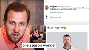 Harry Kane Brilliantly Replies To Comments About Him On Social Media, Including 'One Season Wonder' Post