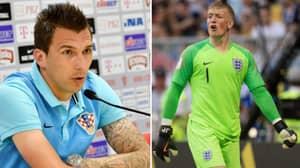 Mario Mandzukic Sends Message To Jordan Pickford Ahead Of World Cup Semi-Final