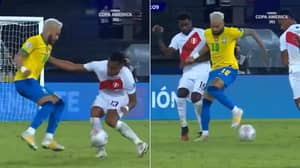 Neymar Destroys Three Peru Players With Incredible Piece Of Skill During Brazil's Copa America Win