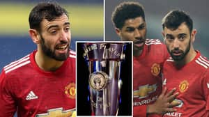 Manchester United Would Need To Pay £4.2m If Bruno Fernandes Wins PFA Player Of The Year Award