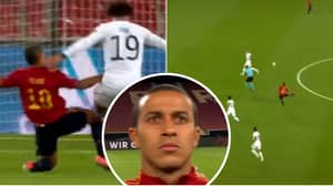Liverpool Target Thiago Dropped A Midfield Masterclass For Spain Against Germany