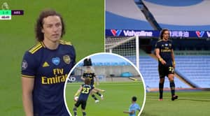 David Luiz Sent Off After Absolute Disasterclass For Arsenal Vs Manchester City