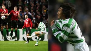 13 Years Ago Today: Shunsuke Nakamura Scored 'That' Free-Kick Against Manchester United