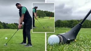 You Can Buy A Swingless Golf Club That Can Hit The Ball Over 200 Yards