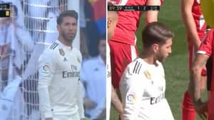 Sergio Ramos Sent Off For 25th Time For Real Madrid