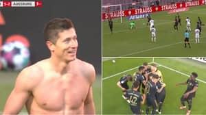 Robert Lewandowski Breaks Gerd Muller's Bundesliga Record