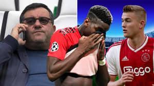 Paul Pogba's Agent Mino Raiola Given Three-Month Worldwide Ban