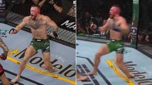 Slow-Mo Footage Shows The Extent Of Conor McGregor's Horrific Ankle Break Against Dustin Poirier
