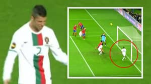 When Cristiano Ronaldo Was Denied A Goal By Nani