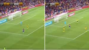 Arsenal's Ainsley Maitland-Niles Scores Hilarious Own Goal Versus Barcelona