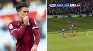 Jack Grealish Scores Against Birmingham After Cowardly Attack By Fan