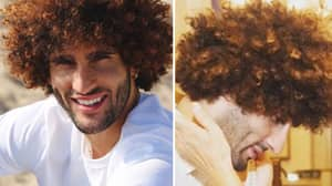 Marouane Fellaini Makes A Really Bizarre Comment About His Hair In Shocking Interview