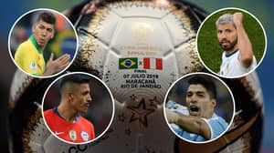 14 Players Could Incredibly Walk Away As The Joint-Top Scorer In The 2019 Copa América