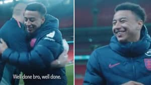 Jesse Lingard Shared A Great Moment With Elia Benedettini After San Marino Game
