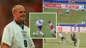 Paul Gascoigne's Sensational Euro 96 Highlights Are Proof He's England's Most Talented Player Ever