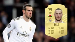 Gareth Bale 'To Be A 79-Rated Card' In FIFA 21 After Receiving Huge Downgrade
