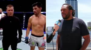 UFC Referee Herb Dean Responds To Dominick Cruz Accusing Keith Peterson Of Smelling Like Cigarettes And Alcohol