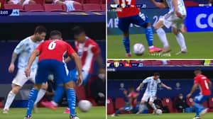 Lionel Messi Produced The Filthiest Nutmeg Of His Career Overnight, He's A Human Highlight Reel