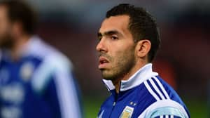 Carlos Tevez Responds To Reports He Was Injured Playing In Jail