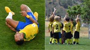 Primary School Headteacher Bans Football Because Children Keep 'Diving Like Neymar'