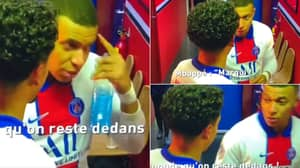 Microphones Picked Up Kylian Mbappe's Rousing Speech And It Shows His Elite Mentality