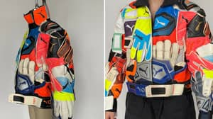 PUMA Create Ridiculous Jacket Made Out Of Old Goalkeeper Gloves