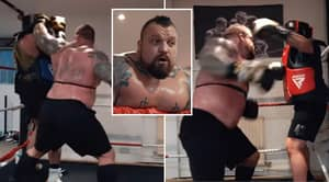Eddie Hall Accused Of 'Bullying' Sparring Partner In New 10-Round Video
