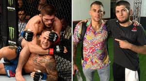 Khabib Nurmagomedov And Dana White Raised An Incredible $200,000 For Dustin Poirier's Good Fight Foundation