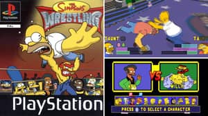 The Simpsons Wrestling Is Officially 20 Years Old And We Feel Really Old Now
