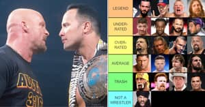 Every WWE Champion Since 2000 Ranked From 'GOAT' To 'Not A Wrestler'
