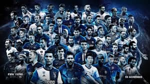 FIFPro World XI's 55-Man Shortlist Dominated By Premier League For The First Time In A Decade