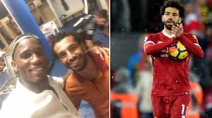 Didier Drogba Told Mo Salah To Break His Premier League Record