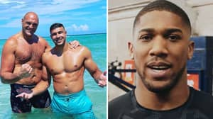 """Anthony Joshua Calls Out """"Fraud"""" Tyson Fury And Says He's Lied To Boxing Fans In Astonishing Attack"""