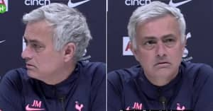 Jose Mourinho Totally Baffled By Questions About Tottenham's Dulux Partnership