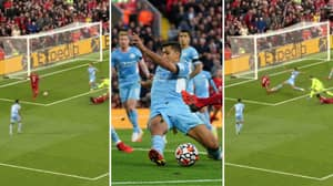 Manchester City's Rodri Produced Incredible Goal-Saving Block Against Liverpool And It's Next Level