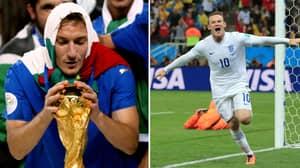 Wayne Rooney Vs Francesco Totti Debate Causes Football Twitter Meltdown