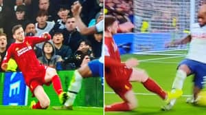 Fans Think Andy Robertson Should Have Been Sent Off in Liverpool Vs Tottenham